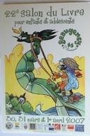 Beaugency Saint Laurent 22e Salon Du Livre Pour Enfant & Adolescent Dragon 2007 - Beaugency