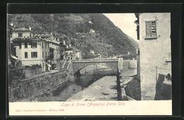 Cartolina Argegno, Ponte Telo - Other Cities