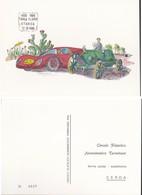 Cartolina Commemorativa 80 Anni Della Targa Vincenzo Florio Storica 1906-1986. - 6. 1946-.. Repubblica