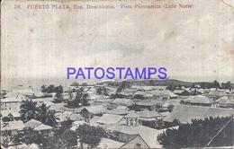 111218 REPUBLICA DOMINICANA PUERTO PLATA VISTA PANORAMICA SPOTTED POSTAL POSTCARD - Unclassified