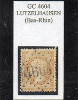 Bas-Rhin - N° 21 Obl GC 4604 Lutzelhausen (bureau Rare!) - 1862 Napoléon III.