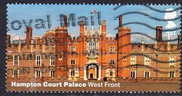 2018 GB  Hampton Court Palace & Gardens - Hampton Court Palace - West Front 1st  Used - 1952-.... (Elizabeth II)