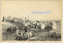 Luftwaffe - Messerschmitt Bf 109 De La Jagdgeschwader 27 (JG 27) Surnommée Afrika - Avion De Chasse - Guerre, Militaire