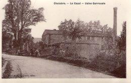 Chalabre Le Cazal Usine Garrouste Carte Photo - Francia