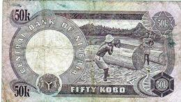 Billet Du Nigeria De 50 Kobo Non Daté (1973-78) Signature 1 - En T B- - Nigeria