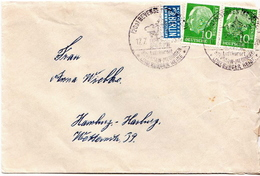 Postal History: Germany Cover From 1955 - [7] Federal Republic
