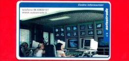 VIACARD - Serie Servizi - Centro Informazioni - Tessera N. 304 - 100.000 - Pik - Italië