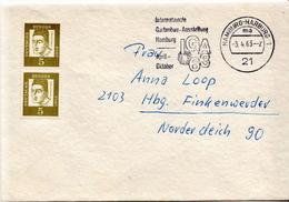 Postal History: Germany Cover From 1963 With IGA 63 Cancel - [7] Federal Republic