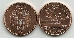 Guyana 5 Dollars 2002. High Grade - Guyana