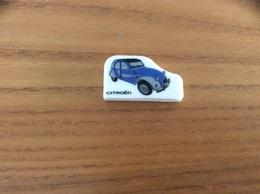 """Fève Plate """"CITROEN"""" (voiture, 2CV) - Histoire"""