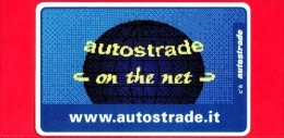 VIACARD - Serie Servizi - Www.autostrade.it, On The Net - Tessera N. 308 - 100.000 - Pub - 11.1997 - Italia