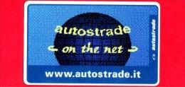 VIACARD - Serie Servizi - Www.autostrade.it, On The Net - Tessera N. 309 - 50.000 - Pik - 01.1998 - Italië