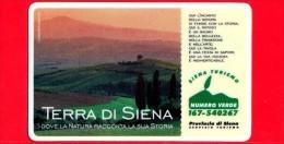 VIACARD - Pubblicitarie - Terra Di Siena - Tramonto - Tessera N. 317 - 50.000 - Pub - 06.1998 - Italia