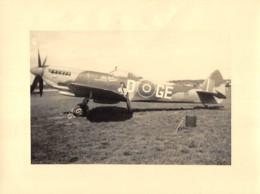 WWII - Original Photo SPITFIRE War Periode Dim. 23 X 17,5 Cm - Guerra, Militares