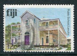 Fiji 1979-94 Architecture - No Imprint Date - 12c Public School Used (SG 586A) - Fiji (1970-...)