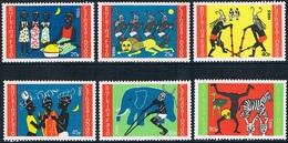 Burkina Faso - Carnaval Dodo 670/675 (année 1985) ** - Burkina Faso (1984-...)
