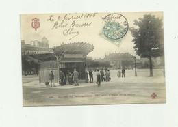 75 - PARIS - XII Eme METRO - Prise De La Nation Animé Bon état - Arrondissement: 12
