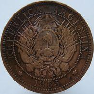Argentina 2 Centavos 1883 VF - Argentina
