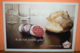 Salumi Negroni Negronetto Pubblicità  Cartolina Promocard 6142 Anno 2003 - Pubblicitari