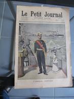 Le Petit Journal N° 561 Amiral Gervais Force Navale / Accident Ferroviaire Locomotive 64 Berenx Orthez 18 Août 1901 - Le Petit Journal