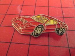 2017 Pins Pin's  / Rare Et De Belle Qualité / THEME AUTOMOBILE : FERRARI ROUGE F40 Je Crois - Ferrari