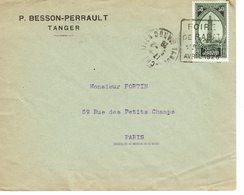 DAGUIN MAROC  TANGER FOIRE DE RABAT 1928      K4 - Morocco (1891-1956)