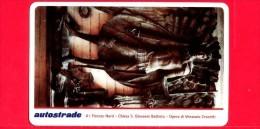 VIACARD - Serie Arte 1998 - Chiesa S. Giovanni Battista - Bronzo V. Crocetti - Tessera N. 324 - 50.000 - Pub - 03.1998 - Italië