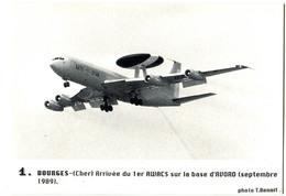 CPM 18 AVORD 1er Awacs 1989 Avion - Avord