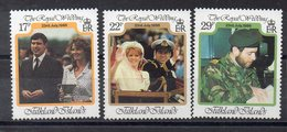 FALKLAND   Timbres Neufs ** De 1986  ( Ref 6413 ) Mariage- Famille Royale - Géorgie Du Sud
