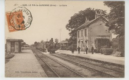 LE PIN LA GARENNE - La Gare (train ) - Other Municipalities