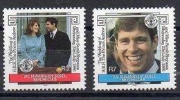 SEYCHELLES  Iles éloignées  Timbres Neufs ** De 1986  ( Ref 6414 ) Mariage- Famille Royale - Seychelles (1976-...)