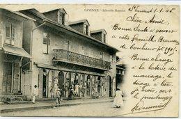GUYANE - Cayenne - Librairie Harmois. Timbre De Guyane. - Cayenne