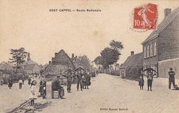 OOST-CAPPEL - WORMHOUT - NORD -  (59) -  CPA ANIMÉE 1914 - INÉDITE SUR CE SITE. . - Wormhout