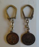 Porte Clefs Porte Clé Melisey 70 Comité Des Fêtes Saint Christophe - Key-rings