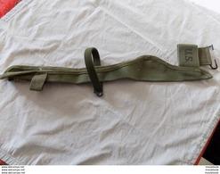 Etui En Toile Pour Pioche M-1910 Datee 1945 En Tres Bon Etat. - Equipment