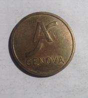 TOKEN GETTONE JETON  TRANSIT AUTOSTRADE GENOVA - Monetary/Of Necessity