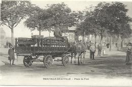 PLACE DU PONT . ATTELAGE DES VINS HAMON A TOUQUES - Trouville