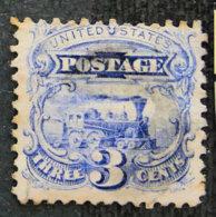 USA - ETATS UNIS D AMERIQUE - 1869 - YT 31 - LOCOMOTIVE BALDWIN - Gebraucht