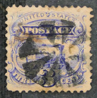 USA - ETATS UNIS D AMERIQUE - 1869 - YT 31 - LOCOMOTIVE BALDWIN - 1847-99 Emissioni Generali