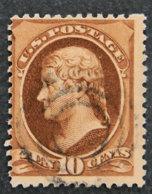 USA - ETATS UNIS D AMERIQUE - 1870 - YT 55 - T. JEFFERSON - Oblitérés