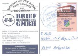 F.E. Brief Beforderung  Sonderkarte 1. Salzphila  Mit SST - [7] Repubblica Federale