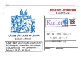 Stadt-Kurier Quedlinburg  Sonderkarte - [7] République Fédérale
