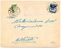 Carta Con Matasellos El Romeral (toledo)  Y Matasellos De Una Farmacia. 1937 - 1931-50 Briefe U. Dokumente
