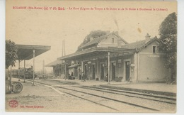 ECLARON - La Gare (arrivée Train ) - Eclaron Braucourt Sainte Liviere