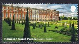2018 GB  Hampton Court Palace & Gardens - Hampton Court Palace - South Front 1st  Used - 1952-.... (Elizabeth II)