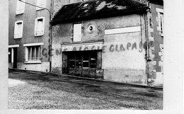 23- SAINT VAURY- MAGASIN A LA BELLE PENSEE- RARE PHOTO ORIGINALE - Luoghi