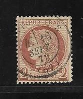 France Timbres De 1872 N°51 2ct Rouge Brun Ceres Oblitéré  (cote 15€) - 1871-1875 Cérès
