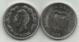 Ecuador 1 Sucre 1986. High Grade - Ecuador