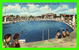 TAMPA, FL - CUSCADEN PARK SWIMMING POOL, YBOR CITY - ANIMATED - HILLSBORO NEWS CO - - Tampa