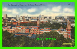 TAMPA, FL - THE UNIVERSITY OF TAMPA & SKYLINE OF TAMPA - - Tampa